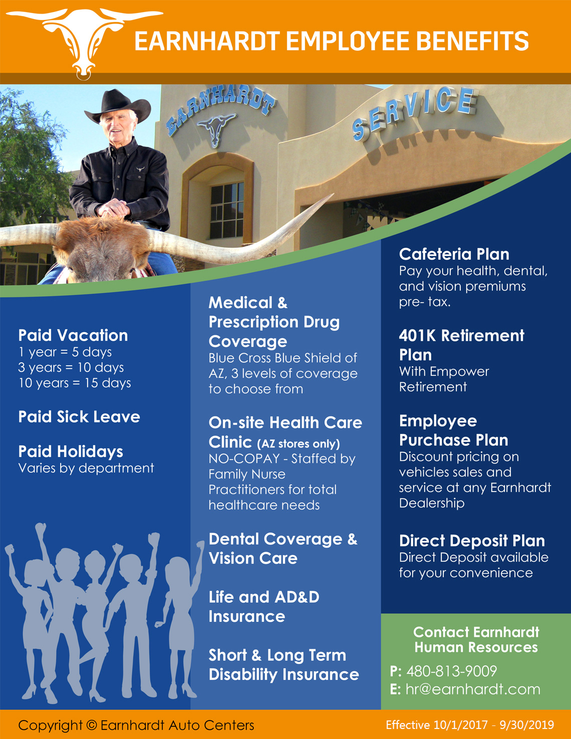 Employee Benefits Flyer